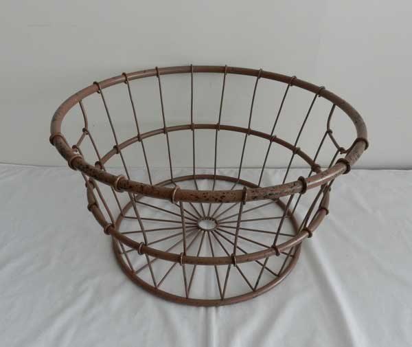 metal basket (9) - Baby photography props