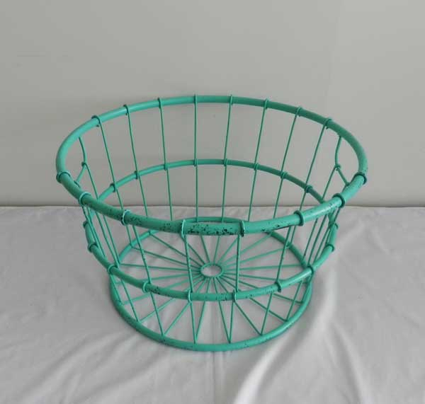 metal basket (25) - Baby photography props