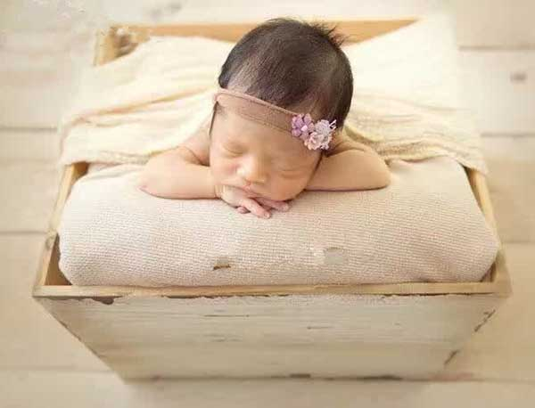 wooden bowl (17) - Baby photography props