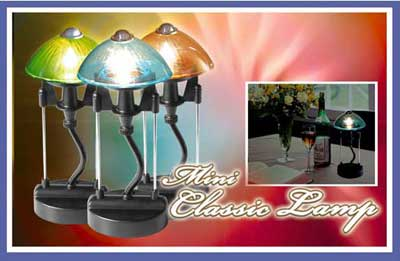 TESL878 mini classic lamp - Electronic + solar light