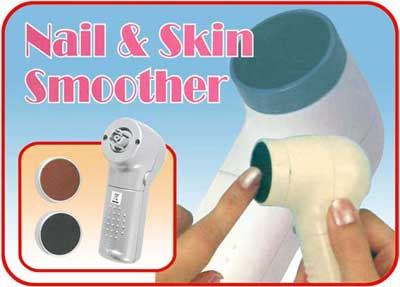 THPS1801 deluxe nail and skin smoother - Health + personal care + Spa