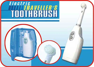 THPS3801 electric traveller toothbrush - Health + personal care + Spa